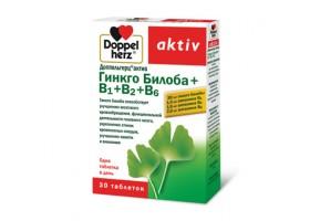 Доппельгерц® актив Гинкго Билоба + В1 + В2 + В6