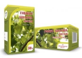 Гинкго билоба + клевер (цветки и трава)