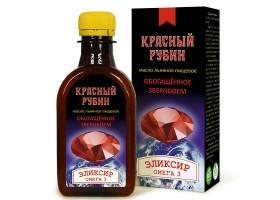 Льняное масло «Красный рубин»